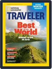 National Geographic Traveler Interactive (Digital) Subscription December 1st, 2017 Issue
