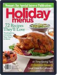 Holiday Menus (Digital) Subscription October 28th, 2008 Issue