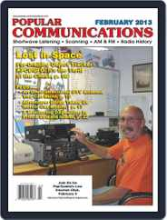 Popular Communications (Digital) Subscription February 1st, 2013 Issue