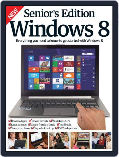Seniors Edition Windows 8 October 29th, 2014 Digital Back Issue Cover