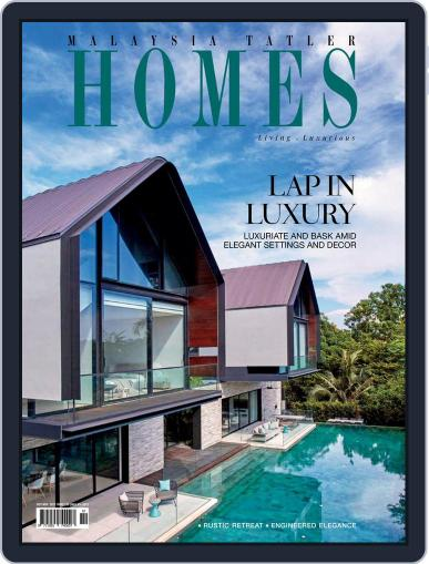 Malaysia Tatler Homes October 1st, 2017 Digital Back Issue Cover