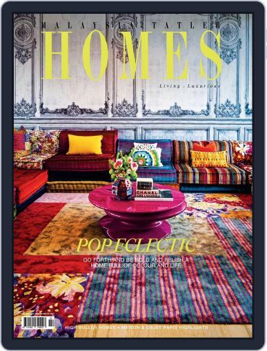 Malaysia Tatler Homes February 1st, 2017 Digital Back Issue Cover
