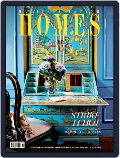 Malaysia Tatler Homes February 1st, 2016 Digital Back Issue Cover
