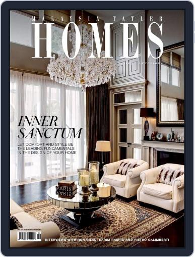 Malaysia Tatler Homes December 1st, 2015 Digital Back Issue Cover