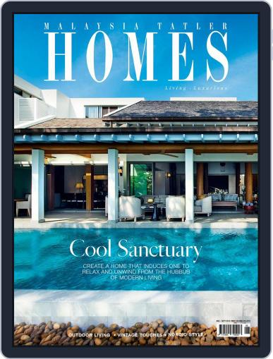 Malaysia Tatler Homes August 1st, 2015 Digital Back Issue Cover