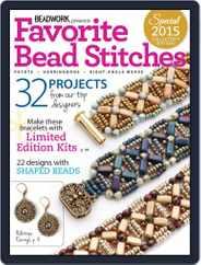 Favorite Bead Stitches Magazine (Digital) Subscription April 8th, 2015 Issue