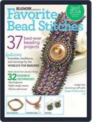 Favorite Bead Stitches Magazine (Digital) Subscription April 9th, 2014 Issue