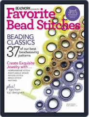 Favorite Bead Stitches Magazine (Digital) Subscription July 31st, 2013 Issue
