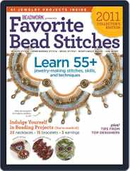 Favorite Bead Stitches Magazine (Digital) Subscription May 15th, 2011 Issue