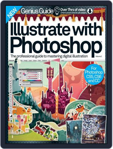 Illustrate with Photoshop Genius Guide November 11th, 2015 Digital Back Issue Cover