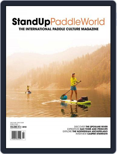 Stand Up Paddle World July 2nd, 2018 Digital Back Issue Cover