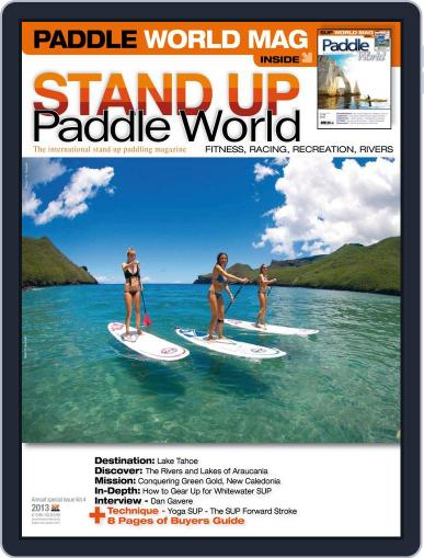 Stand Up Paddle World June 17th, 2013 Digital Back Issue Cover