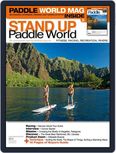 Stand Up Paddle World June 1st, 2012 Digital Back Issue Cover