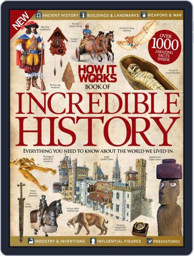 How It Works Book of Incredible History August 5th, 2015 Digital Back Issue Cover