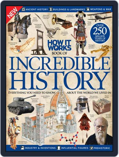 How It Works Book of Incredible History January 21st, 2015 Digital Back Issue Cover