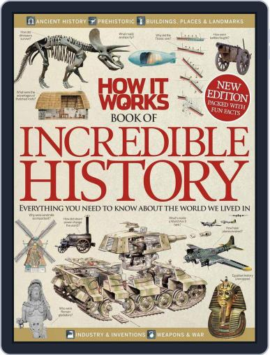 How It Works Book of Incredible History August 1st, 2013 Digital Back Issue Cover