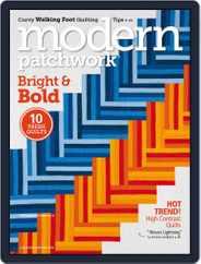 Modern Patchwork Magazine (Digital) Subscription August 23rd, 2018 Issue