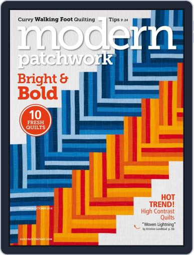 Modern Patchwork August 23rd, 2018 Digital Back Issue Cover