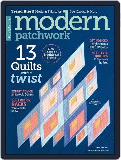 Modern Patchwork May 1st, 2018 Digital Back Issue Cover