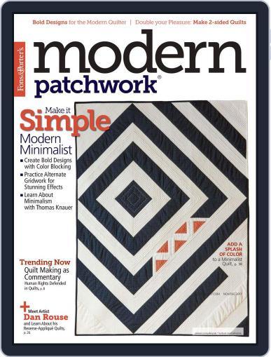 Modern Patchwork November 1st, 2017 Digital Back Issue Cover