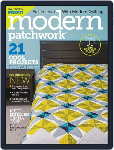 Modern Patchwork January 1st, 2017 Digital Back Issue Cover