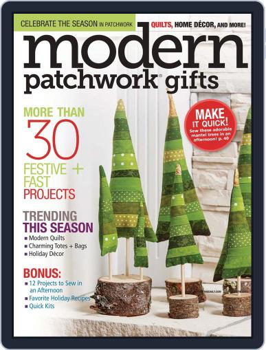 Modern Patchwork August 23rd, 2016 Digital Back Issue Cover