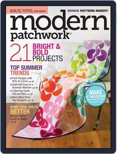 Modern Patchwork June 1st, 2016 Digital Back Issue Cover