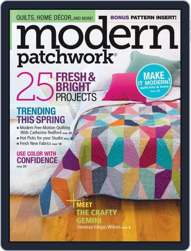 Modern Patchwork March 1st, 2016 Digital Back Issue Cover