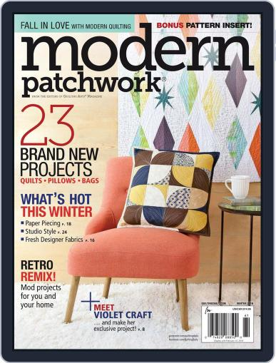 Modern Patchwork January 1st, 2016 Digital Back Issue Cover