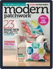 Modern Patchwork Magazine (Digital) Subscription November 19th, 2015 Issue