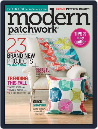 Modern Patchwork November 19th, 2015 Digital Back Issue Cover