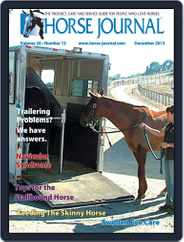 Horse Journal (Digital) Subscription November 15th, 2013 Issue