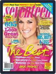 Seventeen (Digital) Subscription October 16th, 2007 Issue