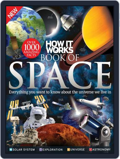 How It Works Book of Space March 1st, 2016 Digital Back Issue Cover