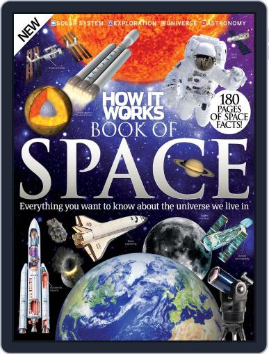 How It Works Book of Space August 28th, 2015 Digital Back Issue Cover