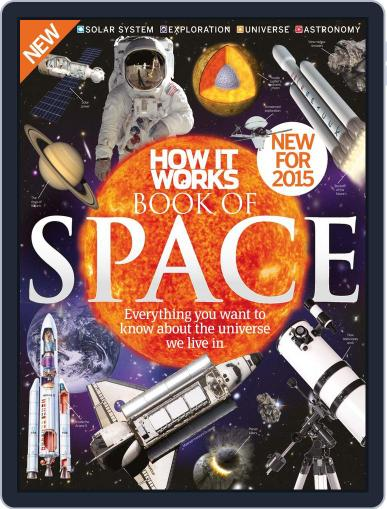 How It Works Book of Space February 4th, 2015 Digital Back Issue Cover