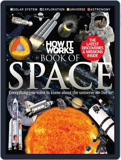 How It Works Book of Space August 6th, 2014 Digital Back Issue Cover