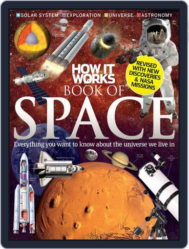 How It Works Book of Space November 1st, 2012 Digital Back Issue Cover