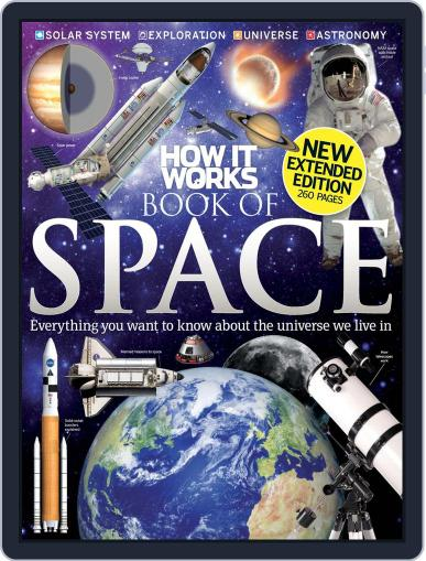 How It Works Book of Space July 4th, 2012 Digital Back Issue Cover