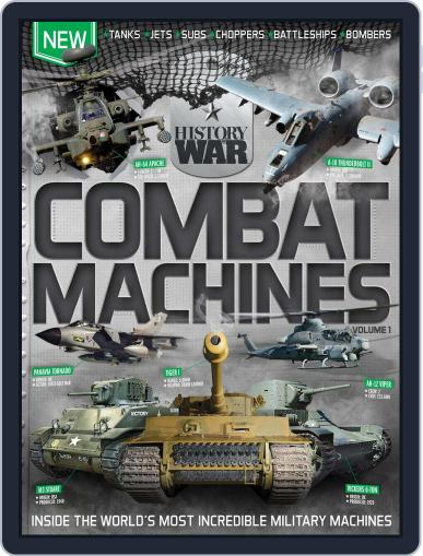 History of War Book of Combat Machines June 24th, 2015 Digital Back Issue Cover