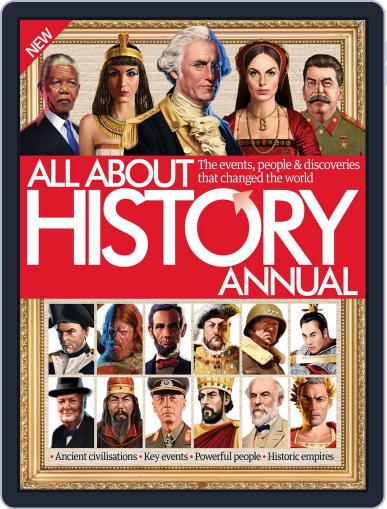 All About History Annual September 30th, 2015 Digital Back Issue Cover
