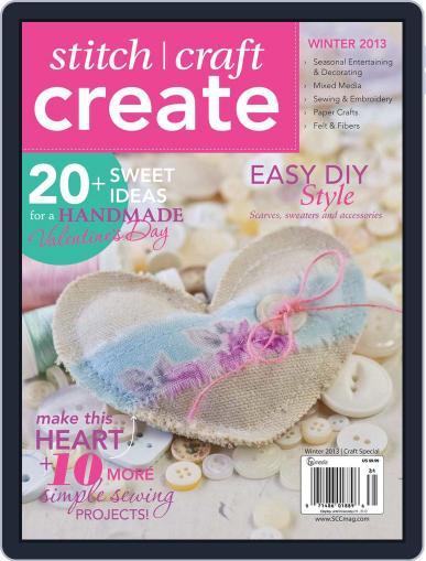 Stitch Craft Create February 13th, 2013 Digital Back Issue Cover