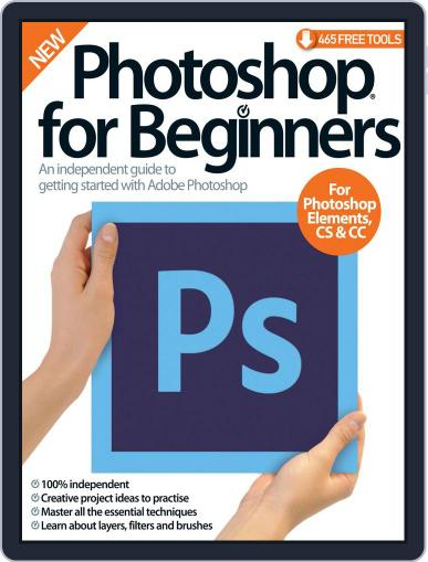 Photoshop for beginners United Kingdom April 1st, 2016 Digital Back Issue Cover