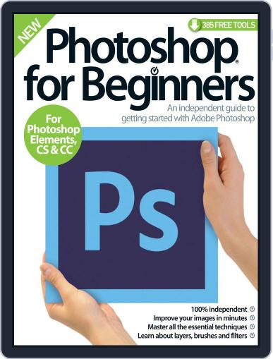 Photoshop for beginners United Kingdom September 9th, 2015 Digital Back Issue Cover