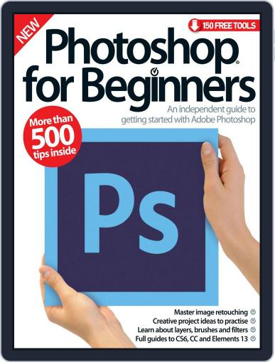 Photoshop for beginners United Kingdom March 11th, 2015 Digital Back Issue Cover
