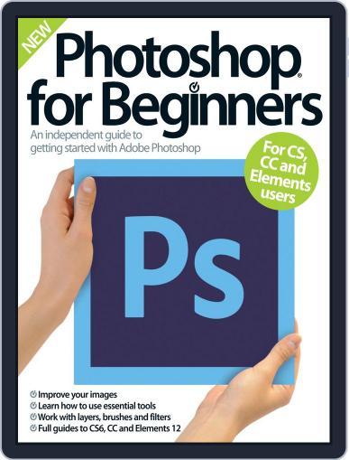 Photoshop for beginners United Kingdom September 1st, 2014 Digital Back Issue Cover