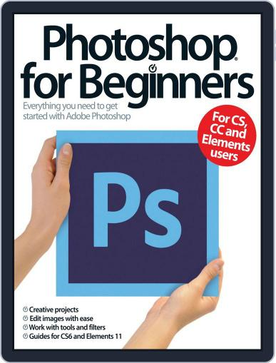 Photoshop for beginners United Kingdom September 1st, 2013 Digital Back Issue Cover