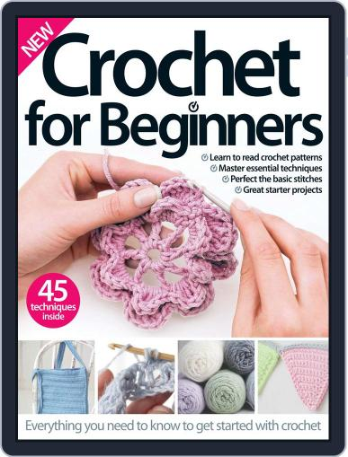 Crochet For Beginners April 1st, 2016 Digital Back Issue Cover