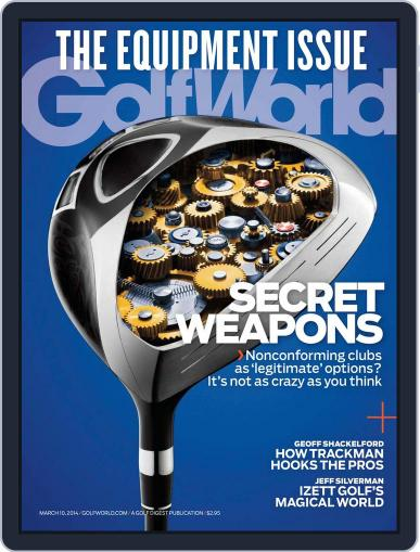 Golf World March 4th, 2014 Digital Back Issue Cover