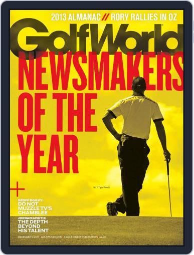 Golf World December 5th, 2013 Digital Back Issue Cover